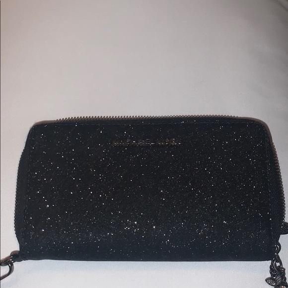 MICHAEL Michael Kors Handbags - Michael kors wristlet black glitter